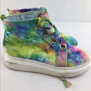 Cape Robbin fashion tie dye shoes size 6m